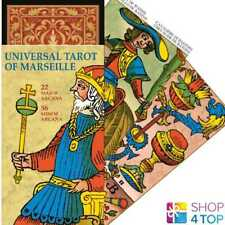 UNIVERSAL TAROT OF MARSEILLE DECK CARDS ESOTERIC TELLING LO SCARABEO NEW