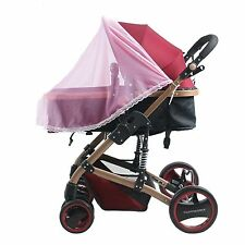 Pink Insect Cover Mosquito net for Pram/Stroller Accessory brand new
