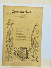 More details for operation fantast #1 1949-fanzine-sci-fi pulp-1st issue-limited edition-vg