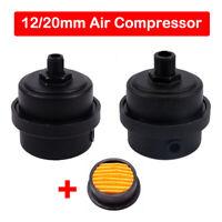 """1/2"""" 1/4"""" BSP  Filtro Dell'Aria  Aria Compressore Silenziatore 12mm/ 20mm"""