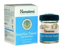 HIMALAYA Cold Relief Balm 10g for blood circulation, blocked nose, sinus ache