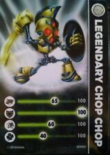Legendary Chop Chop Skylanders Spyro's Adventures Stat Card Only!