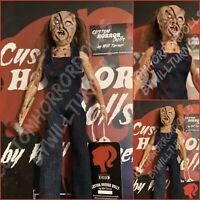 HATCHET Victor Crowley CUSTOM HORROR DOLL OOAK 12 Inch Figure BLOODY