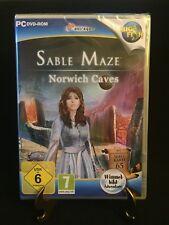 Sable Maze: Norwich Caves - Wimmelbild Adventure (PC DVD-Rom, 2014) Neu & OVP