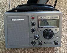 Grundig S350 AM/FM/SW Shortwave Radio includes power supply