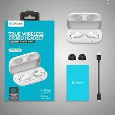 True Wireless Stereo Headset Earbuds with Ipx6 Waterproof and 2000mAh Power Bank