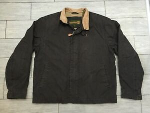 MENS BROWN TIMBERLAND JACKET, SIZE L