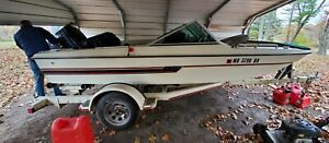 1981 VIP 15' Bowrider Fishing Boat & Trailer - Missouri