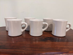 Ultima China Restaurant Ware Diner Coffee Cup Mugs Set of 6