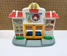 Hasbro Playskool McDonalds Happy Meal Drive Thru Playset with Sound 1999