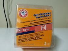 Arm & Hammer Dirt Devil F4 2 Pack Filters New, sealed.