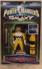 "Power Rangers Lost Galaxy - 5"" Blasting Yellow Ranger Firing Rocket (MOC)"
