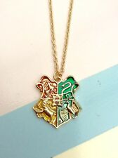 Free Gift Bag Gold Plated Harry Potter Necklace Ladies Jewellery Cute Magic Xmas