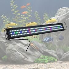 "Aquarium Full Spectrum Multi-Color Led Light 129 Led For 30""-41"" Fish Tank"