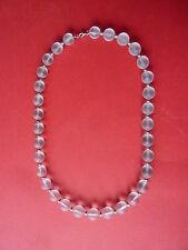 WMF Ikora Myra glas Hals kette mattiert Collier frosted glass necklace