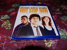 FACTORY SEALED NEW Why Stop Now Blu-ray JESSE EISENBERG,MELISSA LEO,TRACY MORGAN
