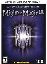 Might and Magic IX 9 PC Game