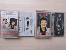 2 X MARGO CASSETTE TAPES, WITH DANIEL O'DONNELL, BOTH TESTED.