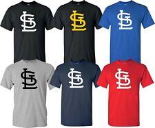 St. Louis Cardinals T-Shirt - Big Logo shirt - Multi Colors Shirt - S-4XL
