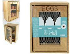 2 Tier Wooden 12 Egg House Cabinet Storage Cupboard Holder Rack Kitchen **NEW**