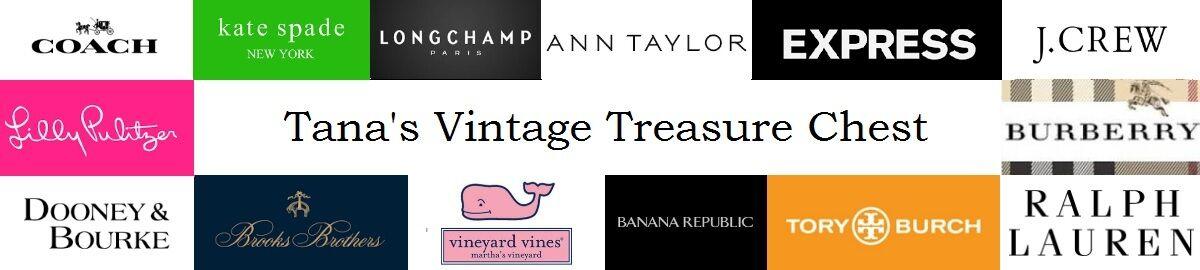 Tanas Vintage Treasure Chest