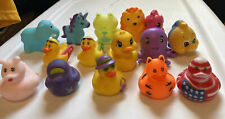 New ListingRubber Ducks And Other Animals Lot