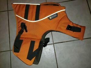 Ruffwear Float Coat Dog Life Jacket Medium M Wave Orange  New No Tags 27-32 in