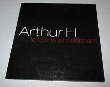 Arthur H - La lionne et l'éléphant - cd promo 2 titres 1997