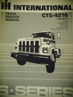 1983 International CTS-4216 Engine V III Truck Service Manual Diagrams S Series