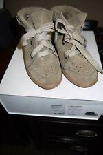 Isabel Marant Bobby Wedge Shoes Beige