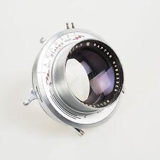 "= Wollensak 9 1/2"" 241mm f4.5 Raptar Alphax Shutter Large Format Lens"