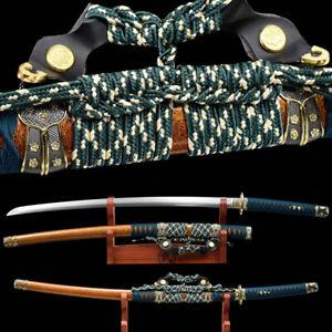 Tokugawa Tachi Handmade Full Tang Spring Steel Japanese samurai sword Very Sharp