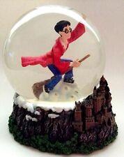 Harry Potter Quidditch Snow Globe Enesco 2000 Glitter