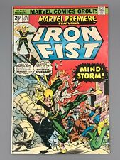 Marvel Premiere #25 (1975) FN/VF - Last Iron Fist Issue In Title