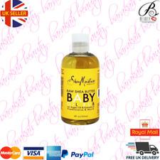 Shea Moisture Raw Shea Butter Baby Oil Rub with Argan Oil & Frankincense & Myrrh