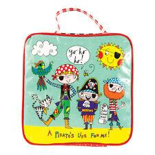 Childrens Pirate Insulated Lunch Bag Boys Boy Wipe Clean Rachel Ellen Designs