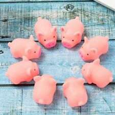 20*Rubber Pet Puppy Pig Shape Chew Fetch Play Toy Squeaker Squeaky With Sound