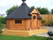 BBQ HUT 14.9m2 grill house / grillkota / grill cabin