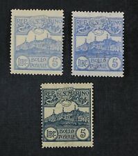 CKStamps: Italy Stamps Collection San Marino Scott#75 76 Mint H OG