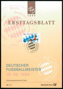 GERMANY ETB FDC SOCCER FOOTBALL FCB BAYERN MÜNCHEN MUNICH z3252