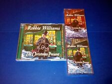Robbie Williams The Christmas Present hand signed double CD & 2X cassette bundle