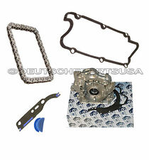 A4 A6 90 QUATTRO CABRIOLET 2.8 ENGINE OIL PUMP + VALVE COVER GASKET + CHAIN KIT