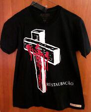 JESUS CRISTO crucifixion T shirt juniors Latin tee resurrection NWT blood Christ