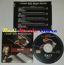 CD BACH II 2000 I GRANDI DELLA MUSICA CLASSICA helmuth rilling macci lp mc dvd