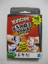 Yahtzee Hands Down Card Game BRAND NEW !