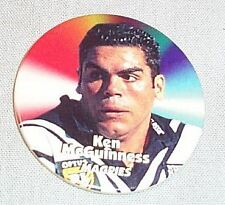 1997 RUGBY LEAGUE TAZO - #37 KEN McGUINNESS, WESTS