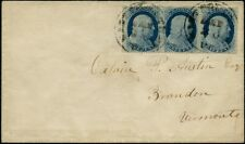 #24 STR/3 VF POS.62-4L8 TIED WITH TOWN PMKS TO VF COVER BP7146