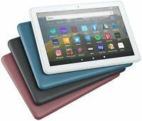 "2021 Amazon Kindle Fire HD 8"" Tablet 32GB[10th Gen]Alexa Black/Blue/Plum/White🔥"