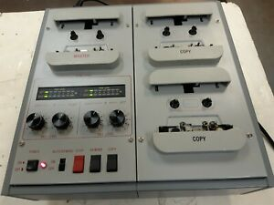 Recordex USA Soundmaster II 4-Channel High Speed Stereo Cassette Duplicator