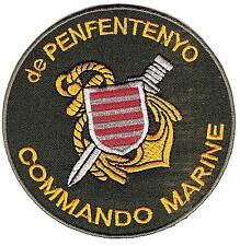 MARINE       COS        COMMANDO   de   PENFENTENYO        patch  thermocollable